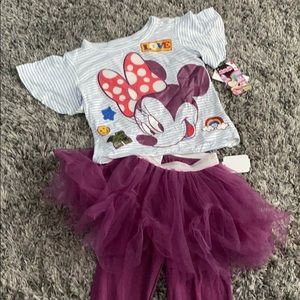 NWT  Disney Minnie Mouse Outfit